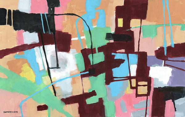 Wall Art - Painting - Workspace by Douglas Simonson
