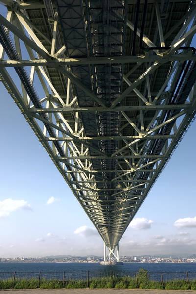Wall Art - Photograph - World Class Suspension Bridge - Japan by Daniel Hagerman
