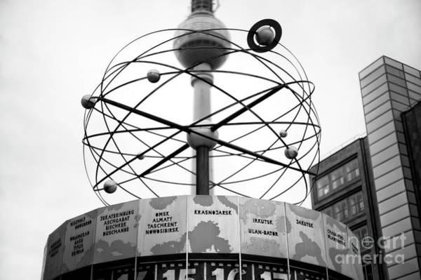 Wall Art - Photograph - World Clock In Berlin by John Rizzuto