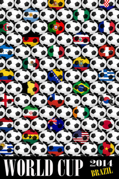 Photograph - World Cup 2014 by Andrew Fare