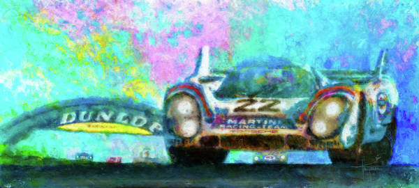 Le Mans Mixed Media - World Domination by Alan Greene