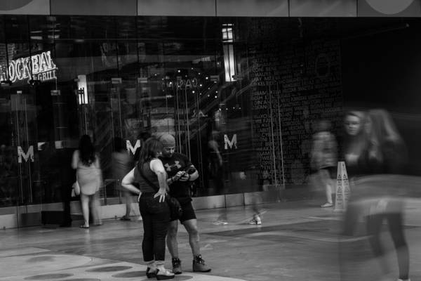 Mall Photograph - World Is Moving by Hyuntae Kim