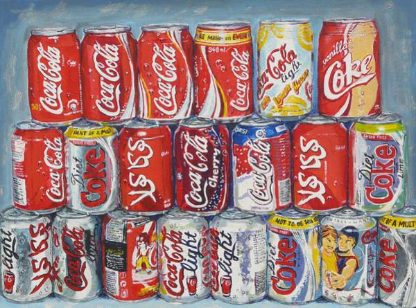 Coca Cola Painting - World Of Coca Cola by Tomas OMaoldomhnaigh