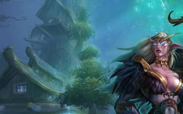 Animal Digital Art - World Of Warcraft by Super Lovely