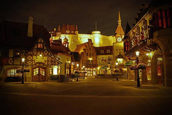 Walt Photograph - World Showcase - Germany Pavillion by AK Photography