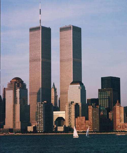 Photograph - World Trade Center 1989 by Paul Ross