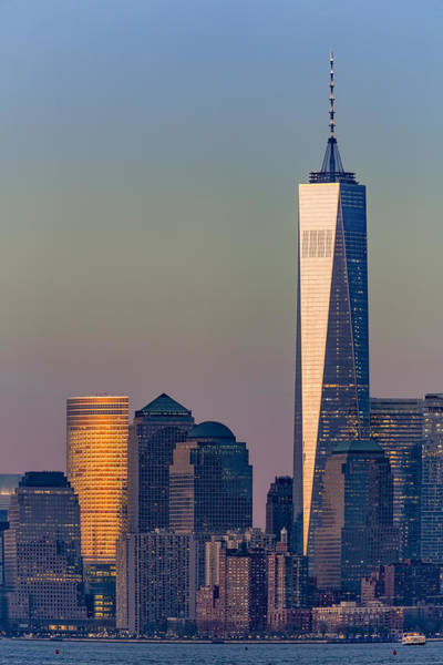 Photograph - World Trade Center Downtown Manhattan by Susan Candelario