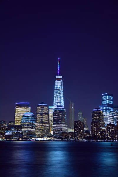 Photograph - World Trade Center In Rainbow by Raymond Salani III