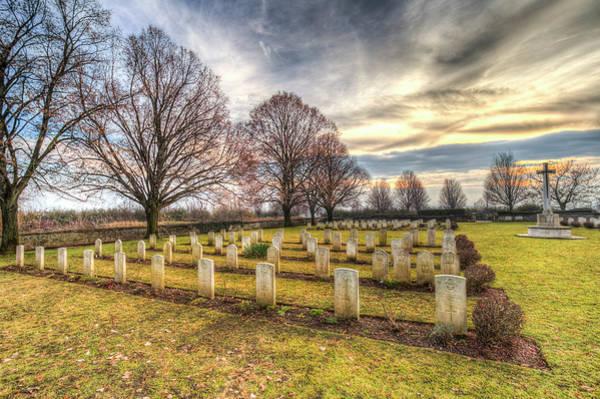 Wall Art - Photograph - World War 2 War Graves Budapest by David Pyatt