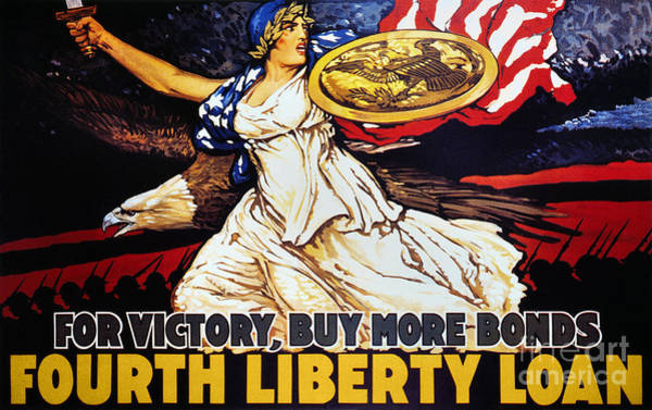 Photograph - World War I: Liberty Loan by Granger