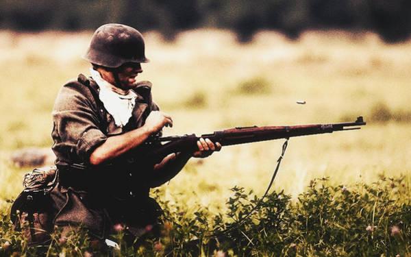 Rifles Photograph - World War I by Mariel Mcmeeking