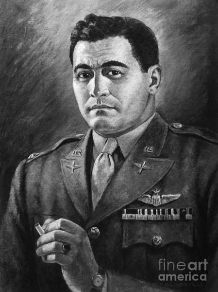 Painting - World War II Colonel by Granger