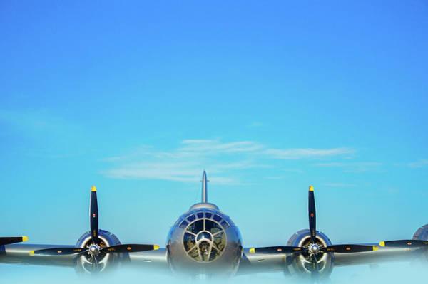Superfortress Photograph - World War II Era B-29 Stratofortress Bomber by Art Spectrum