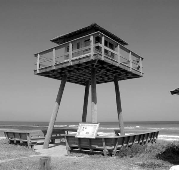 Ormond Beach Photograph - World War Two Coastal Watch Tower by David Lee Thompson