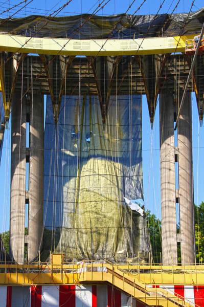 Photograph - World's Fair Restoration 2 by Bob Slitzan