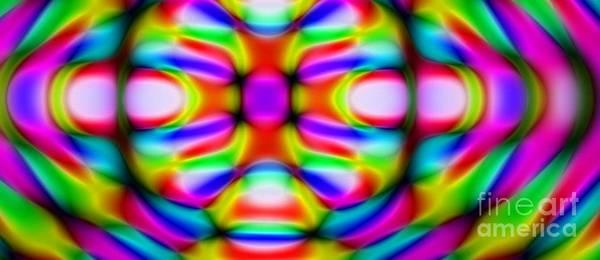 Digital Art - Worm Hole by Stanley Morganstein