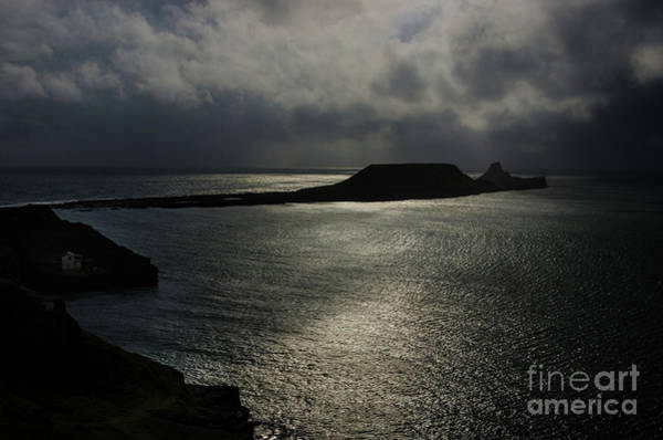 Photograph - Worms Head, Rhossili Bay 3 by Perry Rodriguez
