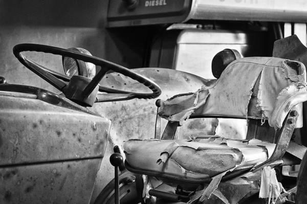 Photograph - Worn And Torn Bw by Christi Kraft