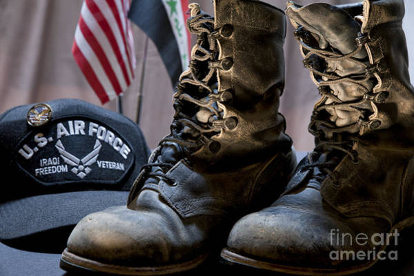 Photograph - Worn Out Veteran by Melany Sarafis
