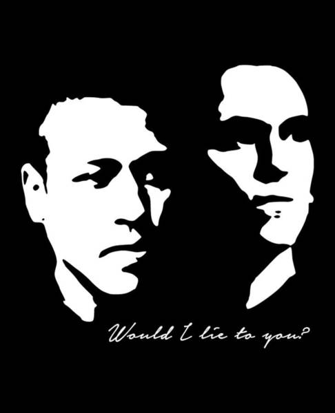 Eddie Digital Art - Would I Lie To You Pop Art by Filip Hellman