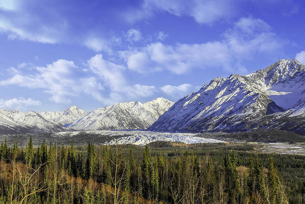 Photograph - Wrangell Mountains Glacier Alaska by Patrick Wolf