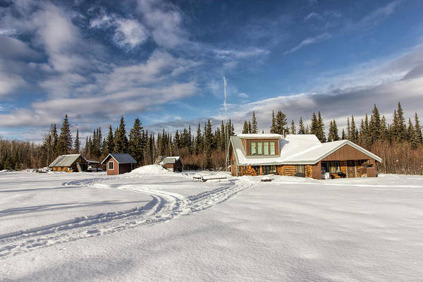 Photograph - Wrangell St. Elias National Park's Operation Center by Fred Denner