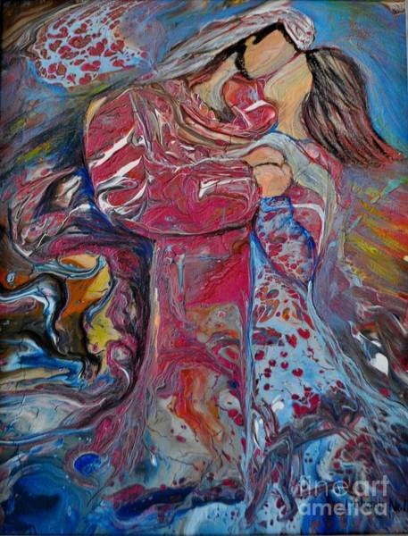 Painting - Wrapped In Your Love by Deborah Nell