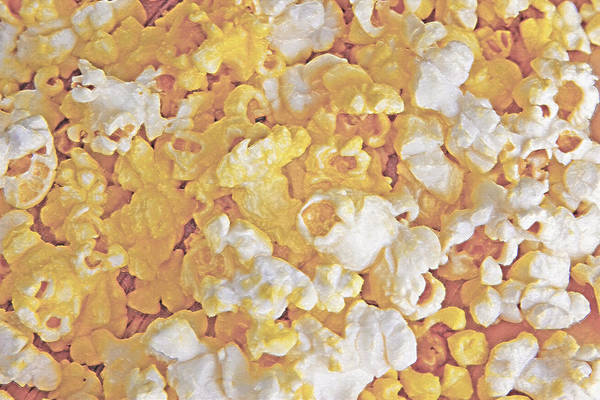 Fun Wall Art - Photograph - Wrapped Popcorn Abstract by Steve Ohlsen