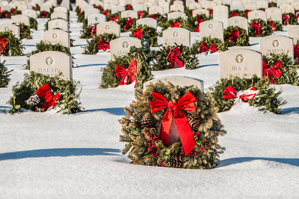 Photograph - Wreaths To Remember by Patti Deters