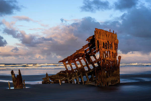 Photograph - Wreck Of The Peter Iredale by Robert Potts