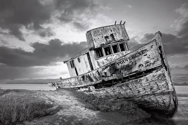 Photograph - Wrecked In Point Reyes by Jon Glaser