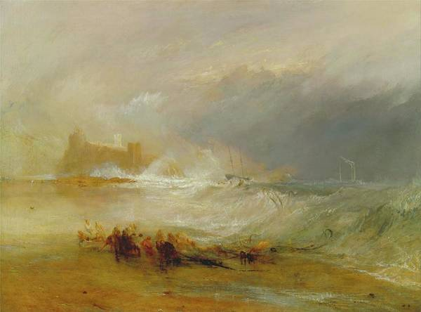 Painting - Wreckers - Coast Of Northumberland by Joseph Wallord William Turner