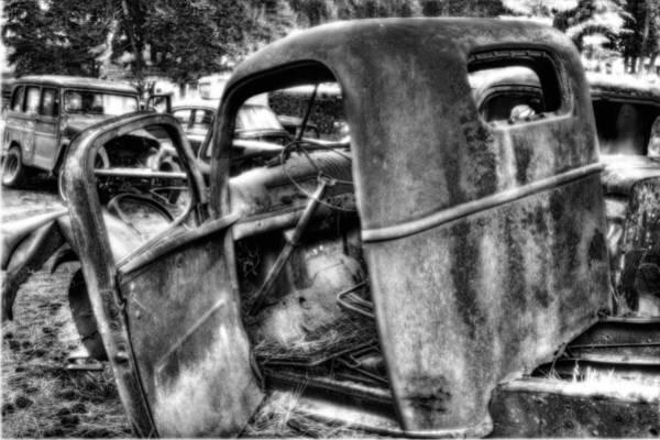 Photograph - Wrecking Yard Study 11 by Lee Santa