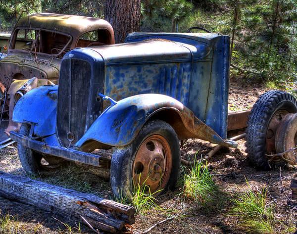 Photograph - Wrecking Yard Study 15 by Lee Santa