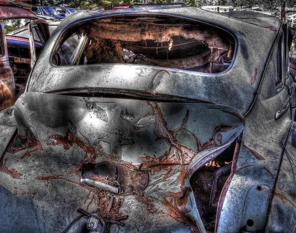 Photograph - Wrecking Yard Study 2 by Lee Santa