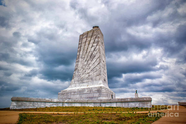 Photograph - Wright Brothers National Memorial  by Nick Zelinsky