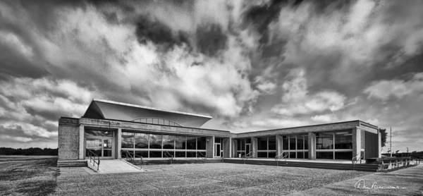 Photograph - Wright Brothers Visitor Center 5278 by Dan Beauvais