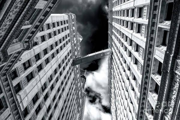 Photograph - Wrigley Building Catwalk by John Rizzuto