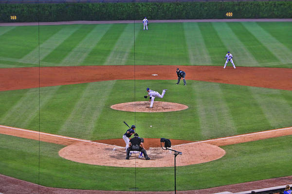 Jon Lester Photograph - Wrigley Field - Home Of The Chicago Cubs # 11 by Allen Beatty