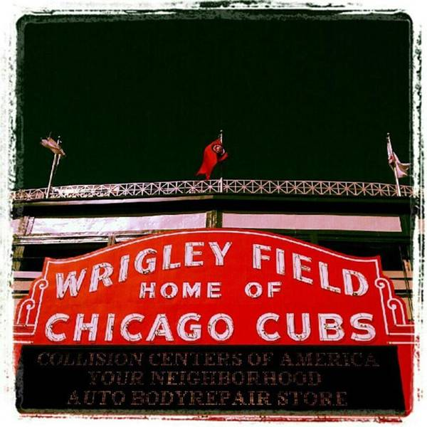 Photograph - Wrigley Field...i Got Off The Bus Just by Tammy Winand