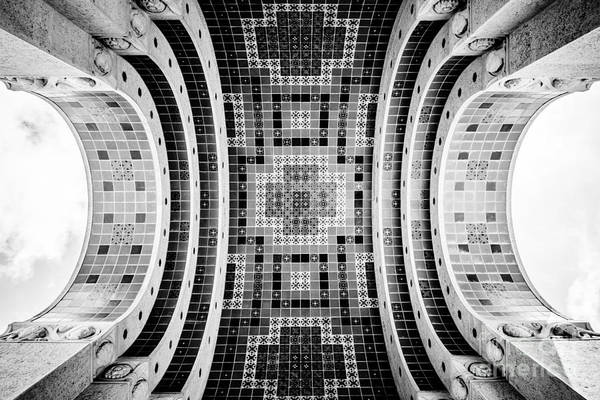 Avalon Wall Art - Photograph - Wrigley Memorial Tiled Ceiling On Catalina Island by Paul Velgos