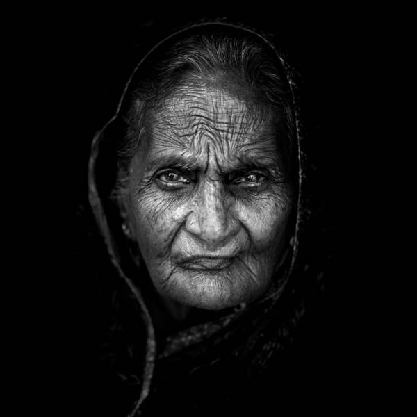 Indian Photograph - Wrinkles by Mohammed Baqer