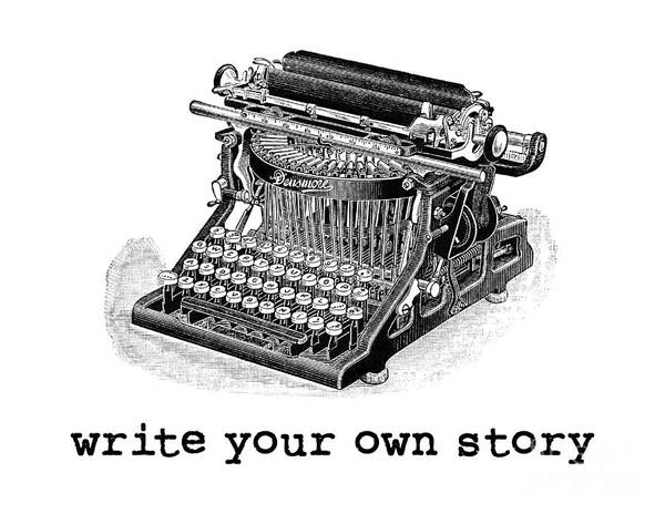 Digital Art - Write Your Own Story T-shirt by Edward Fielding