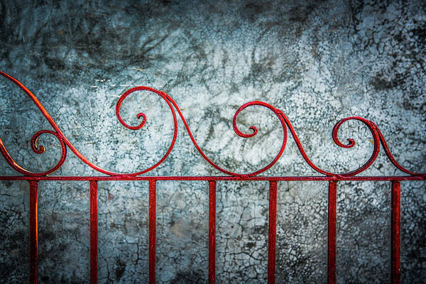 Photograph - Wrought Iron Wave by Michael Arend