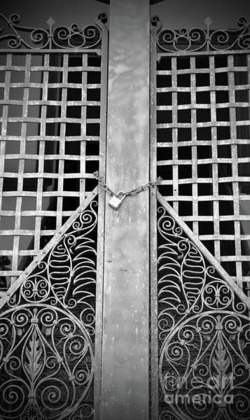 Photograph - Wrought Lock by Jost Houk