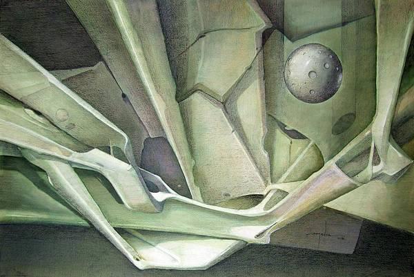 Wall Art - Painting - Ws1986dc023 La Llegada Del Planeta Venus by Alfredo Da Silva