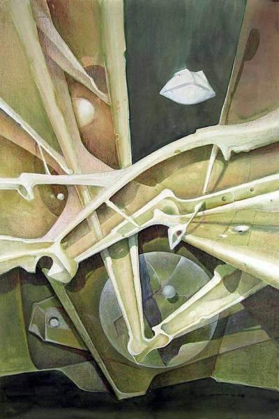 Wall Art - Painting - Ws1986dc024 Viaje Al Espacio by Alfredo Da Silva