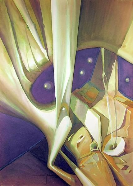 Wall Art - Painting - Ws1988dc026 Sublimacion Spiritual by Alfredo Da Silva
