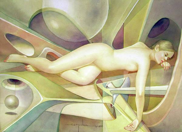 Bolivia Painting - Ws2000dc002ar Irena Buenos Aires 20.75x14 by Alfredo Da Silva