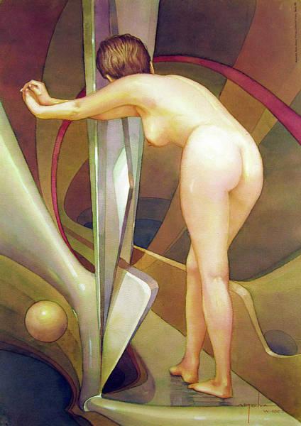 Bolivia Painting - Ws2000dc005ar Irena Buenos Aires 12x16.75 by Alfredo Da Silva